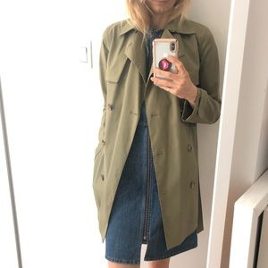 CELINE Trench Coat size 34 (extra small 0-2)